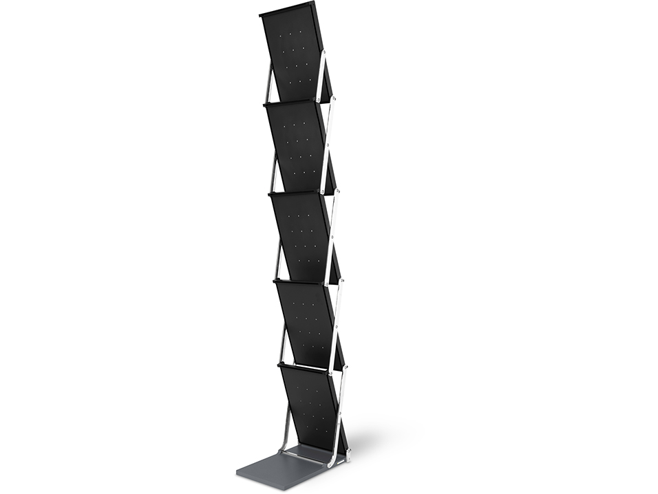 Positive brochure stand