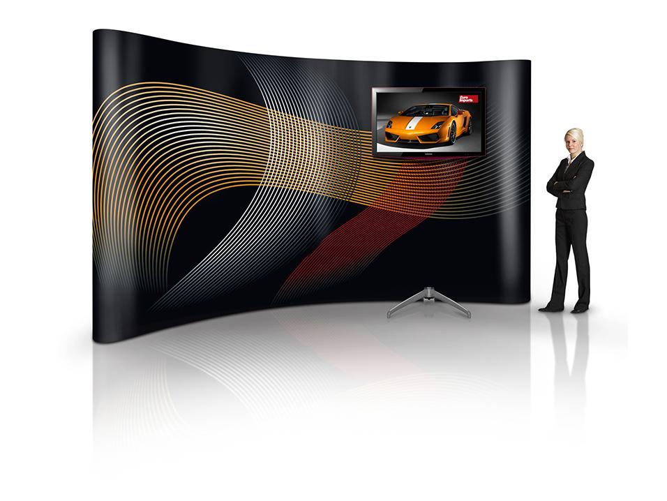 Positive monitor displays