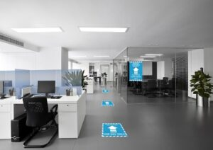 Workplace social distancing solutions